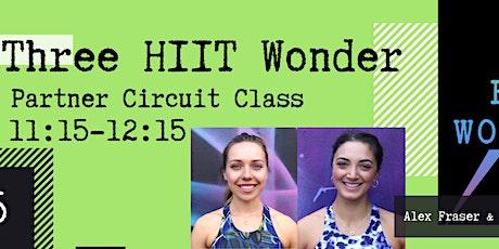 Three HIIT Wonder Partner Circuits with Alex & Charline tickets