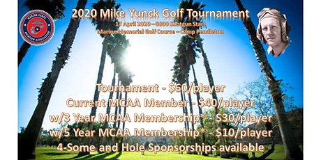 The Mike Yunck Golf Tournament - 2020 tickets