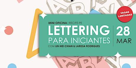 Mini Oficina de Lettering ingressos