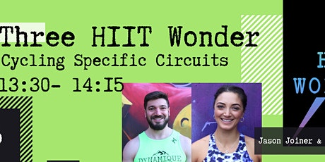 Three HIIT Wonder Cycling Specific Circuits with Charline & Jason tickets