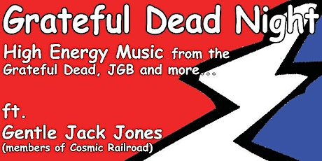 Grateful Dead Night featuring Gentle Jack Jones at Cranky Pat's tickets