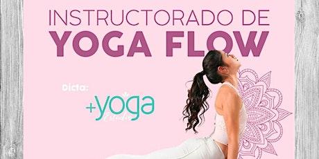 Instructorado de Yoga Flow entradas