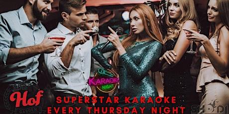 Super Star Karaoke @The Hof Bldg hosted by Sho DJ #rva tickets