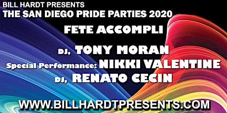 Fete Accompli 2020, a Bill Hardt Presents San Diego Pride Party  tickets