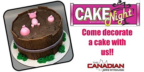 CakeNight - Okotoks - pigs n mud Cake tickets