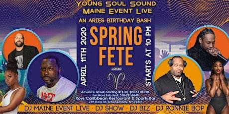 Spring Fete (Aries Birthday Bash) tickets
