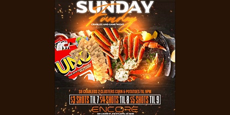 SUNDAY FUNDAY feat. $5 Hookahs & $8 Crab Legs! - @Encoreatl tickets