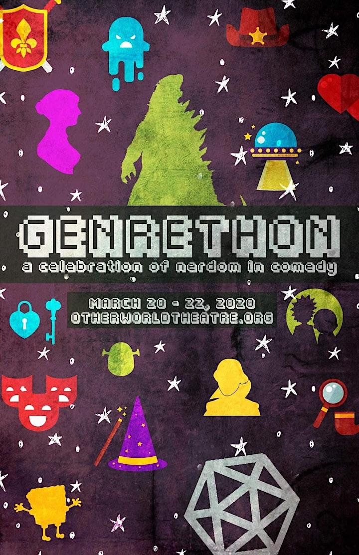 Genre-thon - A Celebration of Nerdom in Comedy image
