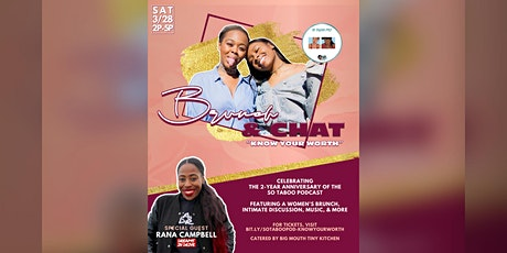 """So Taboo Pod Presents: Brunch & Chat """"Know Your Worth"""" tickets"""