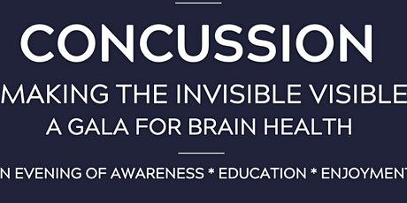 Symphony Rehab's  2nd Annual CONCUSSION: MAKING THE INVISIBLE VISIBLE Gala tickets
