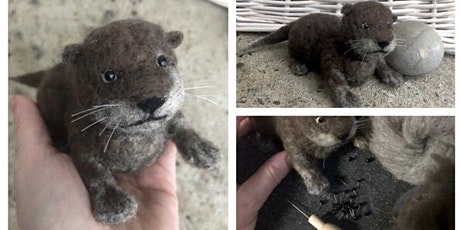 Felted Baby Otter Workshop, April 25, 2020 tickets