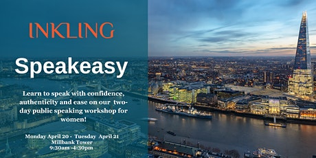 Inkling Speakeasy Workshop - London 2020 tickets