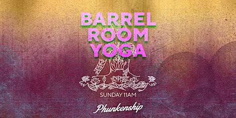 Phunkenship Barrel Room Yoga tickets