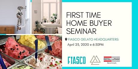 First Time Home Buyer Seminar X Fiasco Gelato Tour tickets