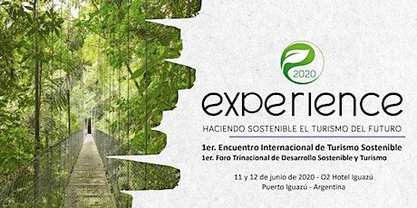 EXPERIENCE2020-ENCUENTRO INTERNACIONAL DE TURISMO SOSTENIBLE ingressos
