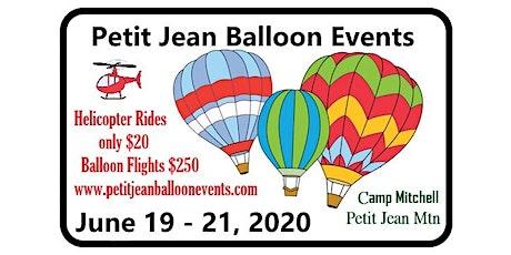 Helicopter Rides on Petit Jean Mountain, Morrilton, Arkansas - June 20 tickets