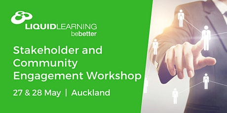 Stakeholder and Community Engagement Workshop tickets