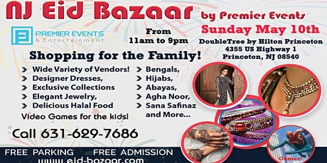New Jersey Eid Bazaar at the Princeton DoubleTree tickets