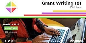 Grant Writing 101 Webinar