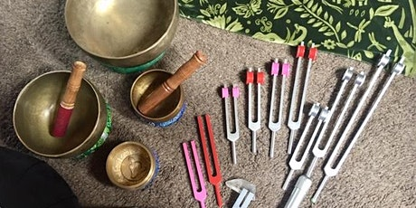 Intro to Acu Tuning Forks with Jules Sears - New DATE - yep, AGAIN! tickets