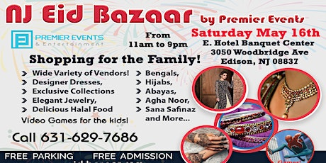 NJ Eid Bazaar at E. Hotel tickets