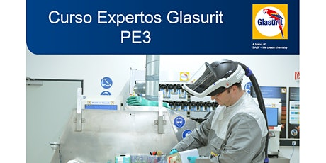 PE3 Curso Expertos Glasurit boletos