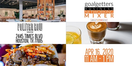 Goalgetters April Business  Networking Mixer tickets