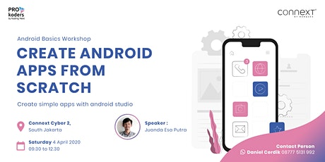[FREE Workshop] Android Basics: Create Android Apps from Scratch tickets