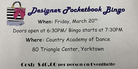 Designer Pocketbook Bingo to support the Linda Duci Dance Ensemble tickets