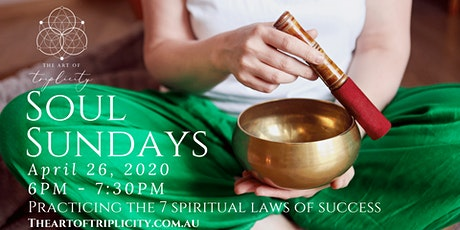 Soul Sundays  - Sound Healing and Meditation (The Law of Giving) tickets