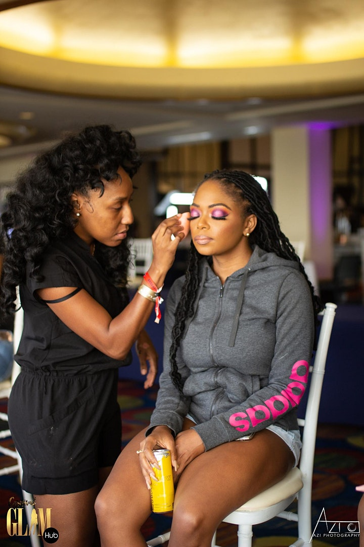 Jamaica Carnival Hair and Makeup image