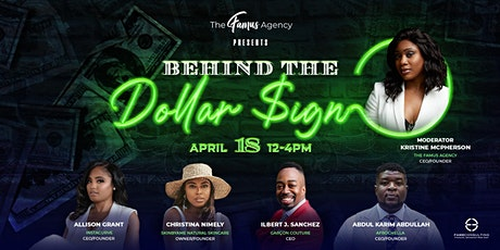 The Famus Agency Presents Behind The Dollar Sign Panel Event tickets
