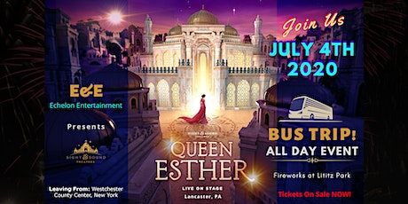 Sights & Sounds - Queen Esther July 4th Bus Trip - Fireworks at Lititz Park tickets
