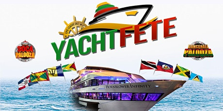 Yacht Fete Reggae Vs. Soca on The Hornblower Infinity *July 17th* tickets