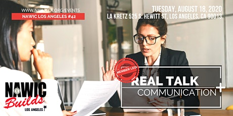 Real Talk – Communication Styles tickets