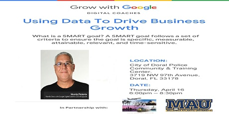 Grow with Google Analytics tickets