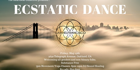 Ecstatic Dance at The Heartbeat Collective with Gabriel Francisco tickets