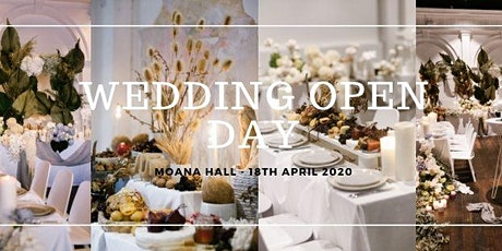 Moana Hall Wedding Open Day tickets