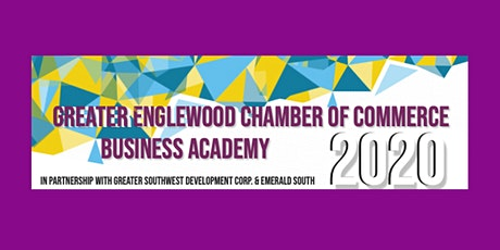 Greater Englewood Chamber of Commerce Business Academy tickets
