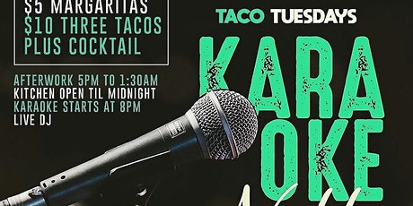 KARAOKE TACO TUESDAYS tickets