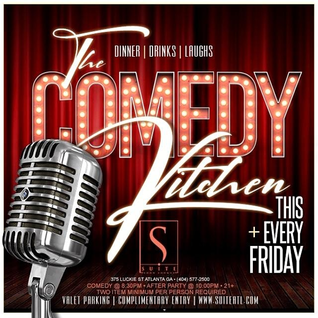 Suite Food Lounge Presents the Comedy Kitchen