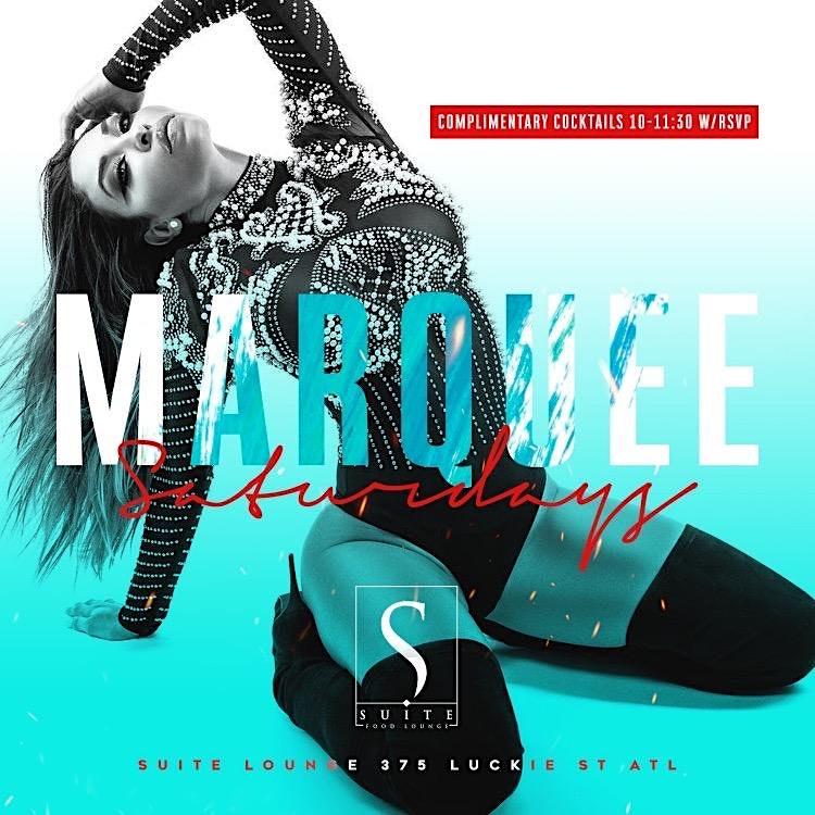 Marquee Saturdays at Suite Lounge