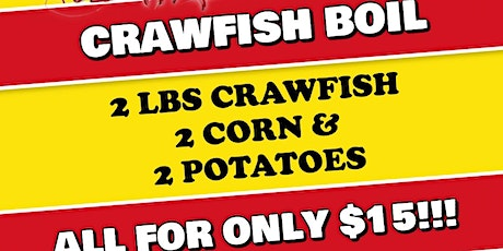 Bourbon Street Grille Crawfish Boil tickets