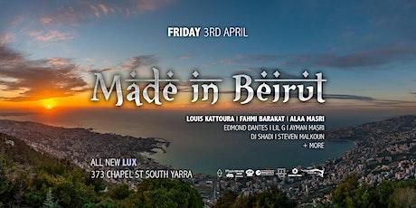 Made In Beirut Ft. Louis Kattoura & Fahmi Barakat tickets