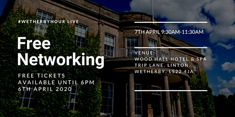 #Wetherbyhour Live at Wood Hall Hotel and Spa tickets