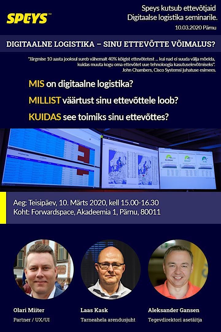Digitaalse logistika seminar image
