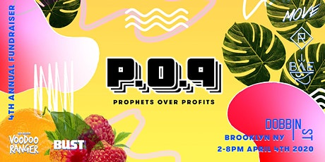 Prophets Over Profits • 444 tickets