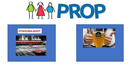 PROP - Rundtur hos PROSHOP og efterfølgende fredagsøl på Aarhus Bryghus tickets