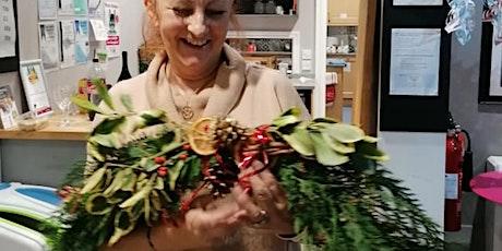 Christmas Garland Making plus Festive Refreshments tickets