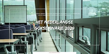 Het Nederlandse Gokseminarie door CasinoNow tickets